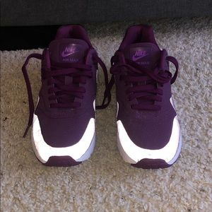 Nike Air Max Purple Women's Size 8.5 USED